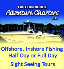 eastern shore adventure charters banner